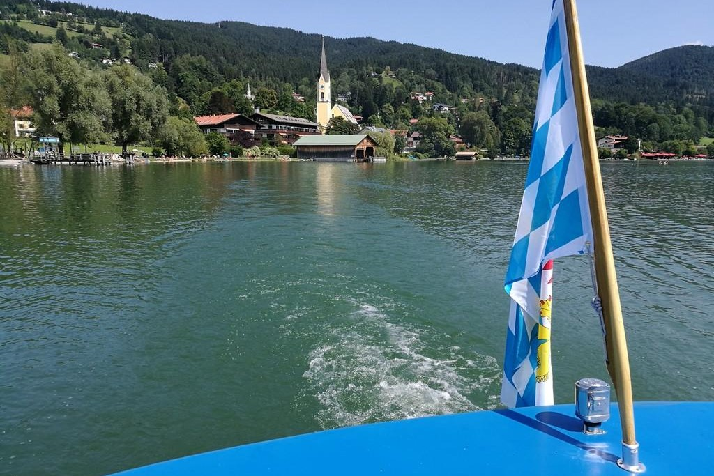 Motorschiff Schliersee III - Heck