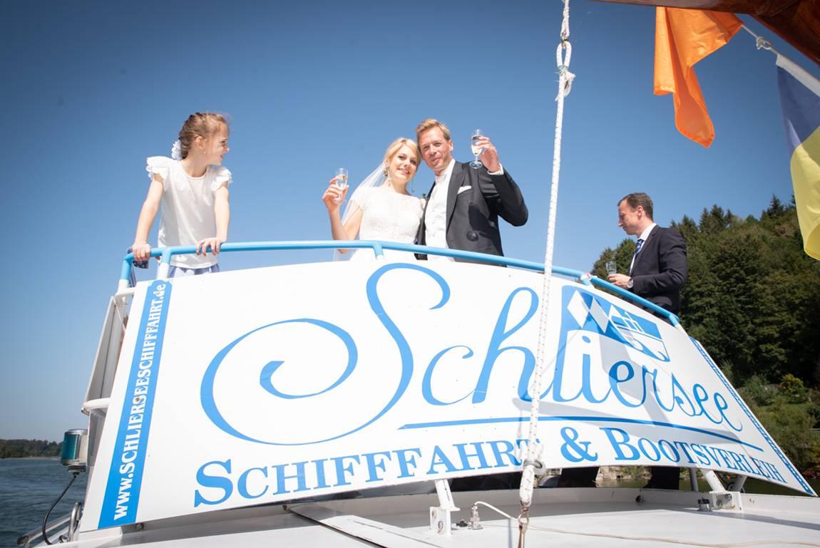 Hochzeit Schifffahrt Schliersee